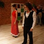 pokaz tańca Flamenco w naszej szkole językowej dla przyszłych kursantów