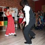 pokaz tańca Flamenco w naszej szkole